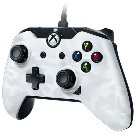 manette filaire pdp pour xbox one camouflage blanc na walmart canada. Black Bedroom Furniture Sets. Home Design Ideas