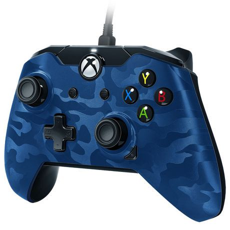 manette filaire pdp pour xbox one camouflage bleu na walmart canada. Black Bedroom Furniture Sets. Home Design Ideas