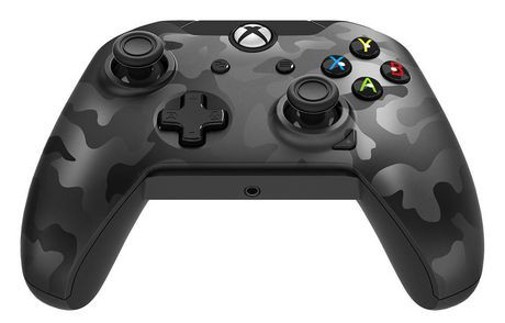 manette filaire pdp pour xbox one camouflage noir na walmart canada. Black Bedroom Furniture Sets. Home Design Ideas