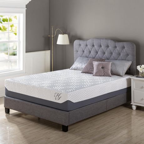 Hotel Style 12 Inch Breathable Cooling Memory Foam Mattress - image 1 of 7