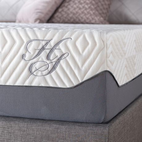 Hotel Style 12 Quot Breathable Cooling Memory Foam Mattress