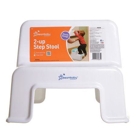Dreambaby 2 Up Aqua And White Step Stool Walmart Canada