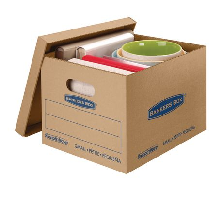 Fellowes® Bankers Box® SmoothMove™ Prime Moving Boxes - Small - image 1 of 5