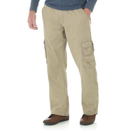 35f4532a0ab Wrangler Men s Belted Cargo Jeans - image 1 ...