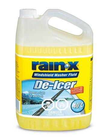 Rain X De Icer Windshield Washer Fluid Walmart Canada