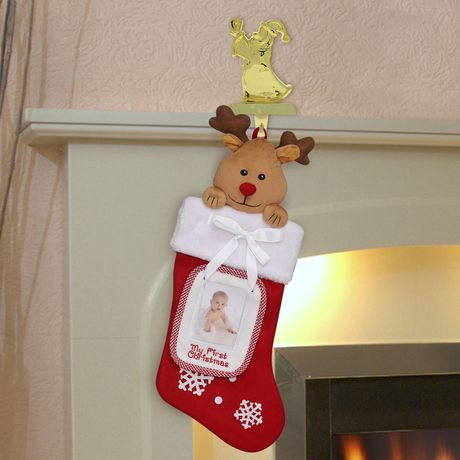 Holiday Time Fleece Baby Stocking With Detachable Frame Walmart Canada