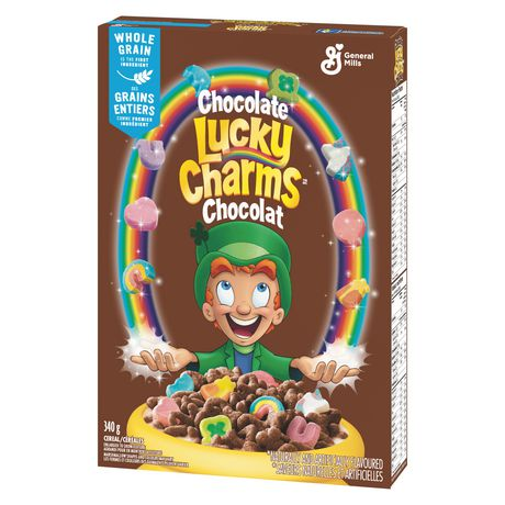 Lucky Charms Chocolate Cereal - image 4 of 5