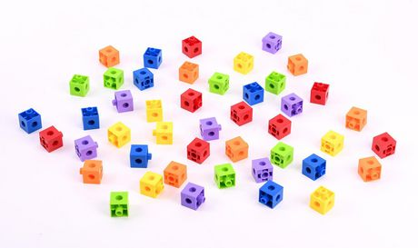 Kid Connection Construction Cubes 45 Pieces - image 1 of 6