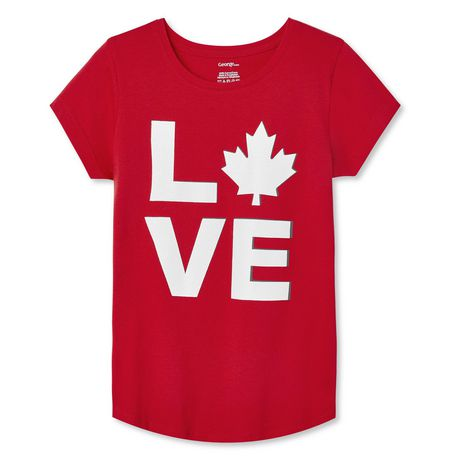 George Girls' Canada Day Tee - image 1 of 2
