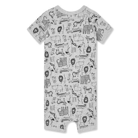 George Baby Boys' Short Sleeve Romper - image 2 of 2