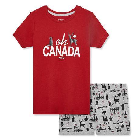 George Girls' Canada Sleep Set - image 1 of 2