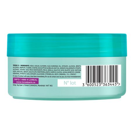 L'Oreal Paris Hair Expertise Extraordinary Clay Pre-shampoo Treatment Mask - image 2 of 6
