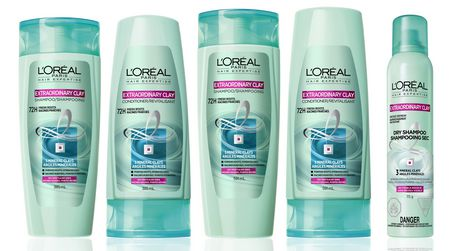 L'Oreal Paris Hair Expertise Extraordinary Clay Pre-shampoo Treatment Mask - image 3 of 6