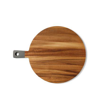 Ironwood Grey Round Paddle Cutting Serving Board Walmart