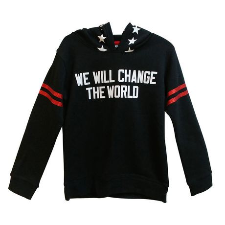 1fdd8d31 George We Will Change The World Long Sleeves Girls Hoodie ...