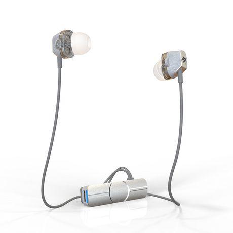 Zagg Écouteurs sans fil IFROGZ Impulse Duo - argent - image 1 de 1