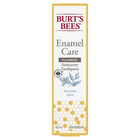 Burt's Bees Toothpaste with Fluoride, Enamel Care, Mountain Mint - image 3 of 9