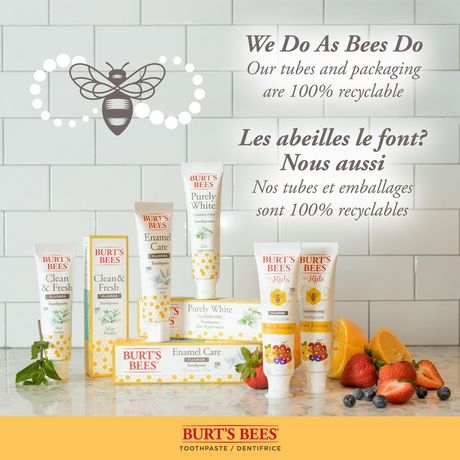 Burt's Bees Toothpaste with Fluoride, Enamel Care, Mountain Mint - image 5 of 9