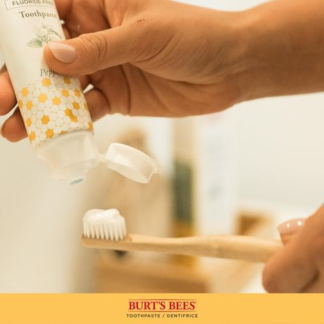 Burt's Bees Toothpaste with Fluoride, Enamel Care, Mountain Mint - image 8 of 9