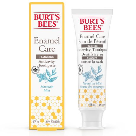 Burt's Bees Toothpaste with Fluoride, Enamel Care, Mountain Mint - image 6 of 9