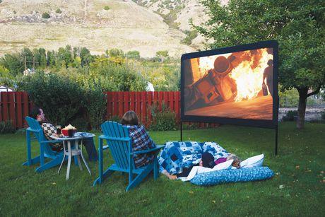 Grand écran de plein air portatif de 120po de Camp Chef (Modèle classique de grand écran de plein air) - image 4 de 4