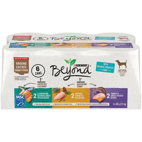 Beyond Grain Free Ground Entrée, Natural Wet Dog Food Variety Pack - image 1 of 5