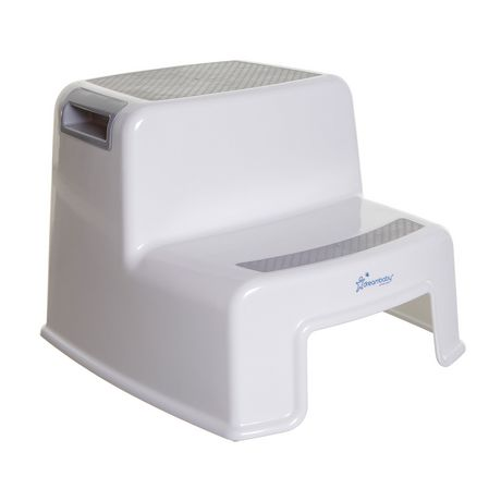 Dreambaby 2-Up Grey and White Step Stool  sc 1 st  Walmart Canada : white step stools - islam-shia.org