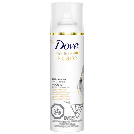 Dove Unscented Dry Shampoo 142GR - image 2 of 6