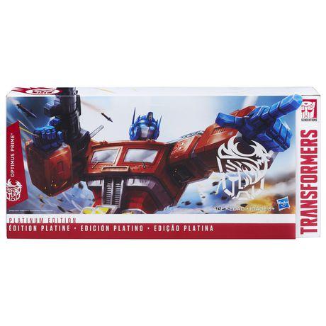 Transformers Generations Platinum Edition Optimus Prime - image 1 of 3