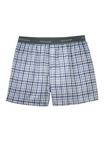e69ecc5ce1ac Fruit of the Loom Men's Assorted Blues Boxer Shorts, 5-Pack - image 7 ...