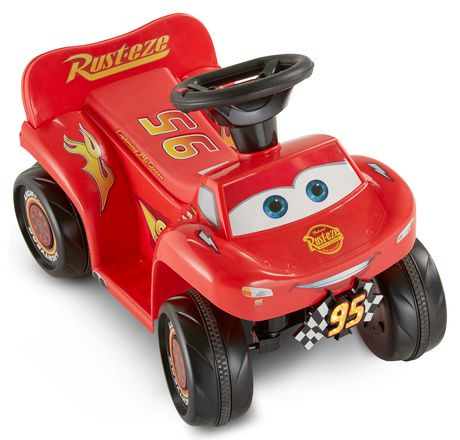 kidtrax 6v disney pixar cars 3 lightning mcqueen quad. Black Bedroom Furniture Sets. Home Design Ideas