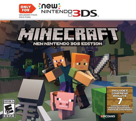 Minecraft new nintendo 3ds edition walmart canada ccuart Gallery