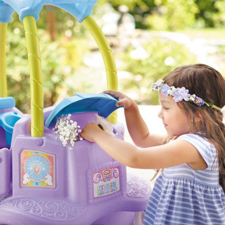 Little Tikes Magical Unicorn Carriage Ride-On - image 6 of 6
