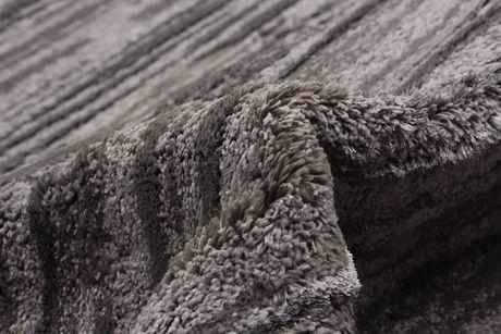"Tapis Shag Soho gris en polypropylène 6'7"" x 9'6"" - image 4 de 5"