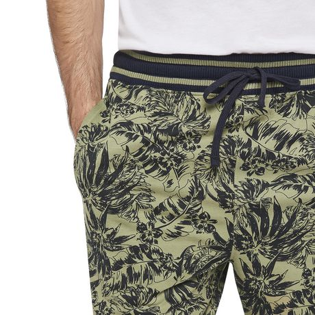 George Men's Printed Side Stripe Jogger Shorts - image 4 of 6
