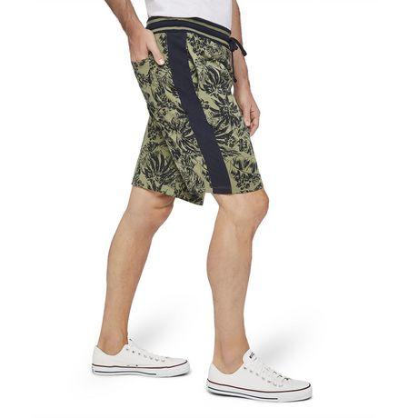 George Men's Printed Side Stripe Jogger Shorts - image 2 of 6