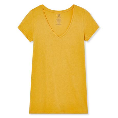 George Women's Short Sleeve V-Neck Tee - image 6 of 6
