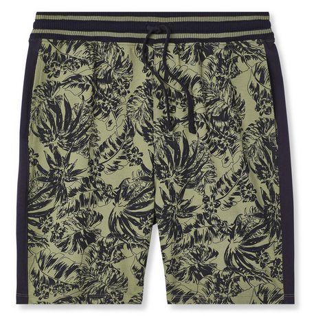 George Men's Printed Side Stripe Jogger Shorts - image 6 of 6