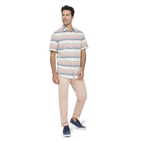 George Men's Printed Cuffed Shirt - image 5 of 6
