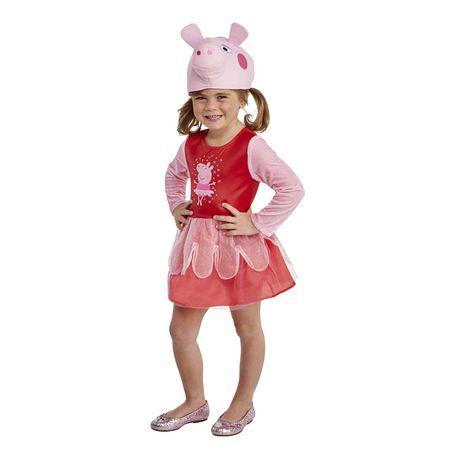 Déguisement de peppa cochon ballerine Walmart Halloween pour bambins - image 1 de 1