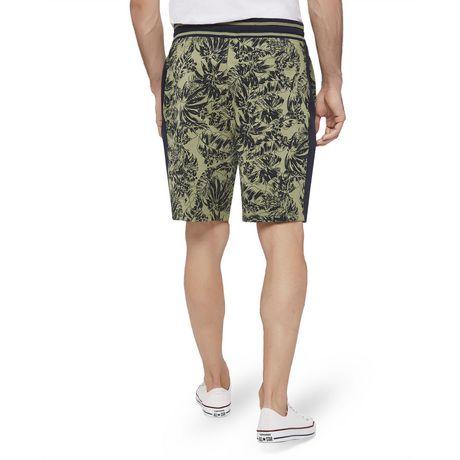 George Men's Printed Side Stripe Jogger Shorts - image 3 of 6