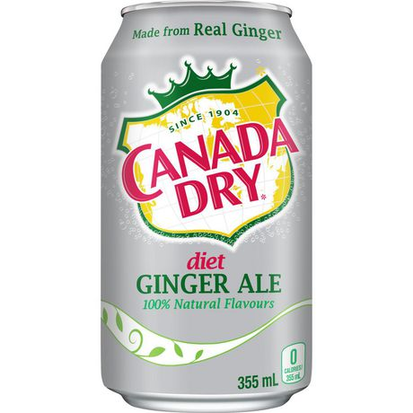 is canada dry ginger ale good for diet
