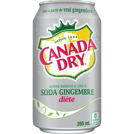 Canada Dry® Diet Ginger Ale 355 mL Cans, 12 Pack - image 7 of 9