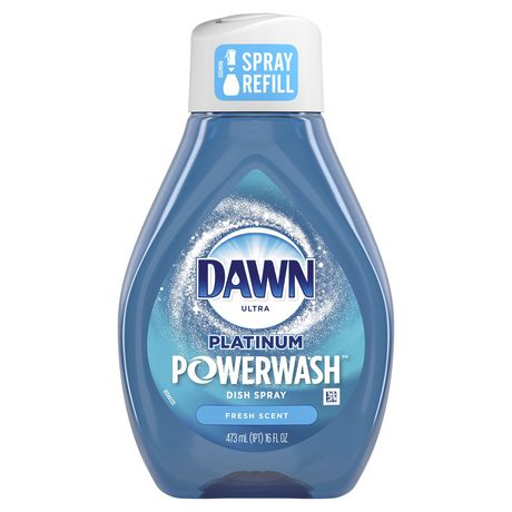 Dawn Platinum Powerwash Dish Spray Refill, Dish Soap, Fresh Scent - image 1 of 9