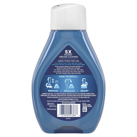 Dawn Platinum Powerwash Dish Spray Refill, Dish Soap, Fresh Scent - image 2 of 9