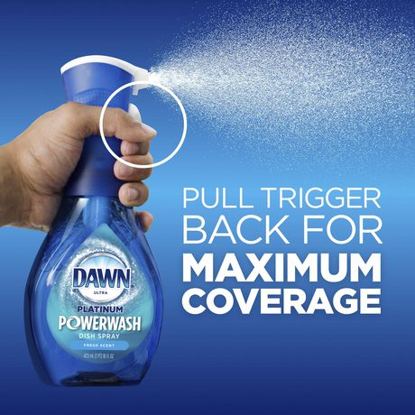 Dawn Platinum Powerwash Dish Spray Refill, Dish Soap, Fresh Scent - image 3 of 9
