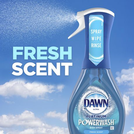 Dawn Platinum Powerwash Dish Spray Refill, Dish Soap, Fresh Scent - image 4 of 9