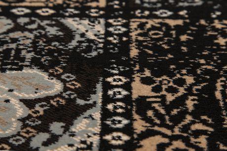 "eCarpetGallery Shahrzad Versailles Black Poly Rug 5'3"" X 7'7"" - image 3 of 4"