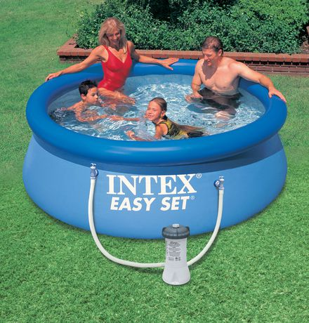 Intex 8 39 x 30 39 39 easy set pool for Piscine gonflable intex easy set