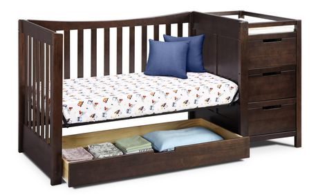 Tatum 4-in-1 Convertible Crib and Changer - image 4 of 6